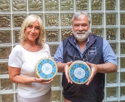 Eva Vila og Enric Canut i Ardai, Barcelona, er lykkelige mottakere av Kraftkar.