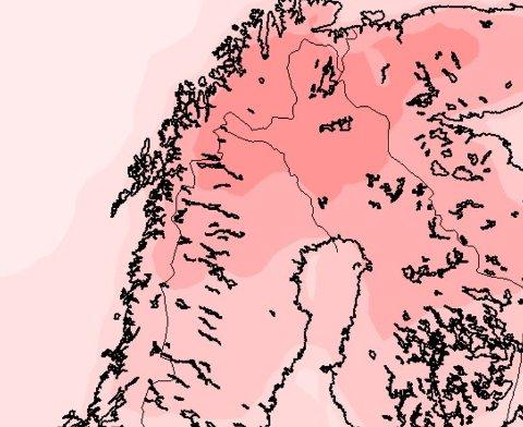 Endelig er varmen tilbake i Nord-Norge, og nå ser den ut til å være på langtidsbesøk.