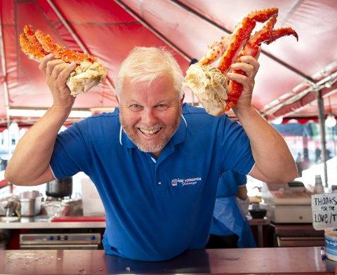 Sjømatnestor på Fisketorget, Åge Sørensen, åpner sjømatrestaurant i Rosendal til påsken.