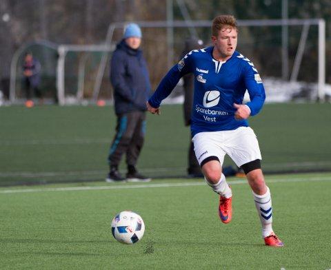 Erik Kanestrøm scoret tre da Øystese sikret opprykket fredag kveld.