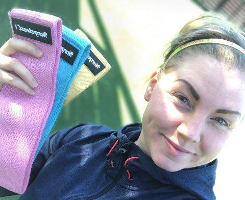 Personlig trener: Janne Sunde begynte som personlig trener i fjor. Nå hjelper hun andre i gang med treningen.