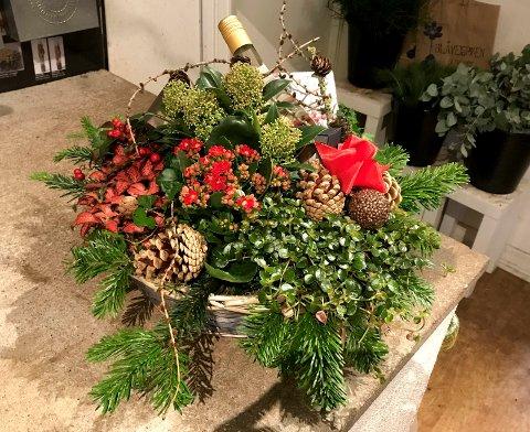 Hvem fortjener en bugnede julekurv fra Drammens Tidende?