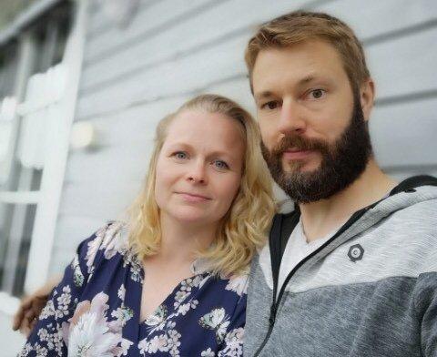 Nina Kristin Løvdok og Tor Armand Larsen skal bli viet av komiker Odd Magnus Williamson i sommer.