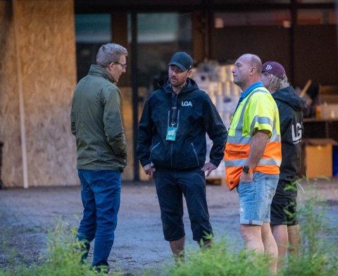 John David Johannessen hadde fredag kveld samtaler med representanter for arrangøren av Elvefestivalen.