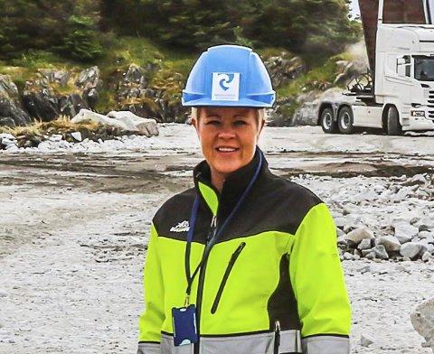 HAMNESJEF: Monica Sande i Bremanger kommune.
