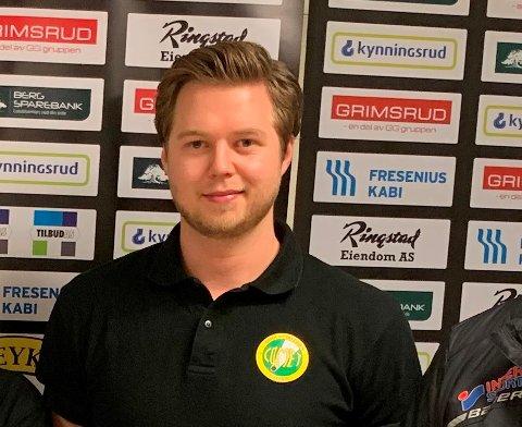 SPORTSSJEF: Martin Engebretsen er foreløpig ikke stresset med tanke på å få inn nye spillere, men håper snart å ha klar en storsignering fra utlandet.