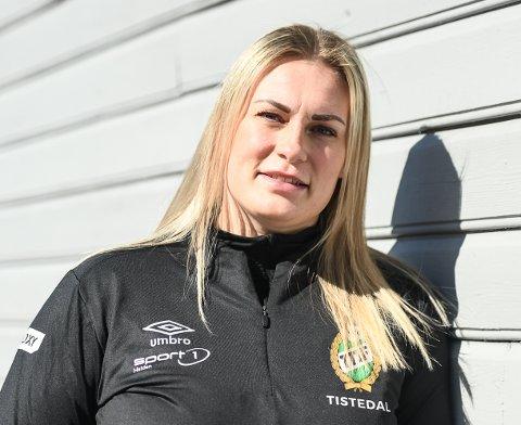 NY TTIF-SJEF: Pernille Huldgaard Andreassen (30) har skrevet 3 års kontrakt som A-lagstrener herrer g spillerutvikler i TTIF Håndball.