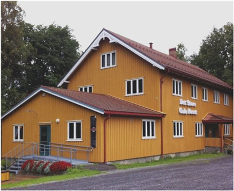 Det Store Gule Huset i Sande skal huse et ny fredagsklubb for ungdom i sommer.