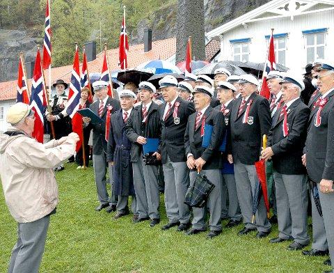 ELDST: Kragerø sangforening er med sine 160 år Kragerøs eldste forening. ARKIVFOTO: ROAR THORSEN, KV
