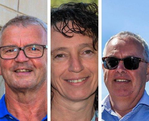 F.v.: Leif Sverre Enes, Hilde Enstad og Ove Lemicka. (Arkivbilde).