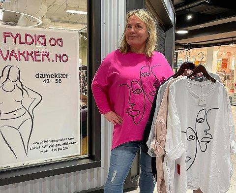 NY BUTIKK: Christin Haldorsen åpner butikken Fyldig og vakker.