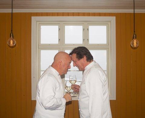 Frank Marstokk og Reidar Sørensen, og livet på fyret, er dokumentert på NRK.