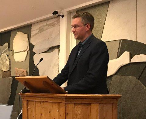 Håvard Horn (41) er ny nestleder i Vestvågøy Høyre.