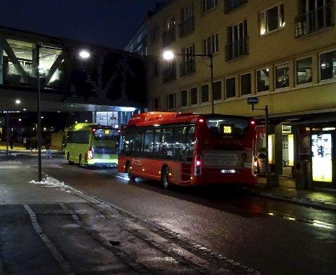 Bussen: Det kollektive alternativet vekt                legges når BKA foreslår klimaskatt. foto: espen vinje Bildetekst