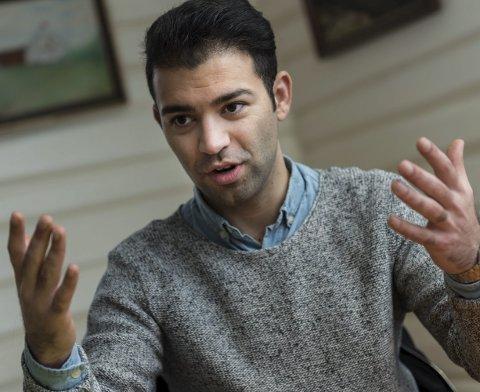 AUF-leder Mani Hussaini.