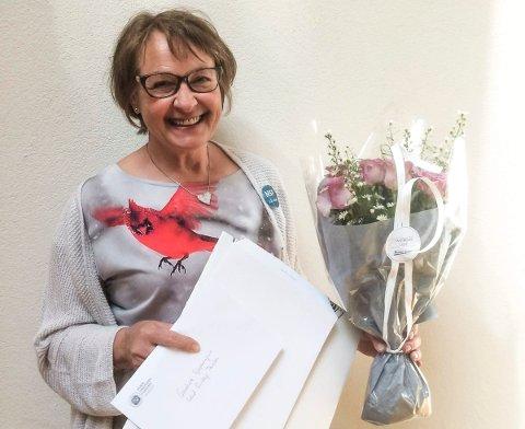 Prisvinner: Kreftsykepleier Sidsel Risberg Paulsen fra Sandefjord.