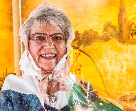VINNER: 69-åringen Tone Eidsvold ble søndag ettermiddag tildelt Wilse-medaljen i Olavs hall.