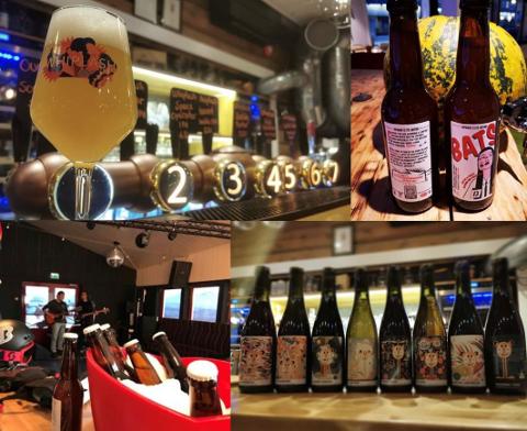 REFS: Disse bildene er et brudd på alkoholloven. Foto: Postjournalen Tromsø kommune