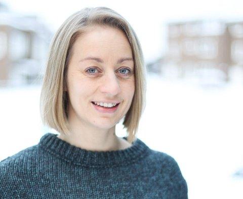 MELDTE SEG PÅ: Maria Hugaas forteller at hun har opplevd det som nyttig å bli med i mentorprogrammet Skaperkraft.