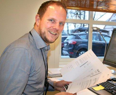 Vokser: Banksjef Eivind Langseth i Sparebank 1 SMN på Røros tror avtalen gir flere kunder og flere ansatte lokalt. Arkivfoto