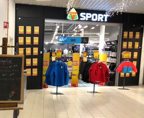 Normal drift: Konkursboet etter Gresvig-kjeden er kjøpt opp, og G-sport butikken på Handelsparken er berget fra konkursen. Driften vil foregå som normalt, og ingen ansatte mister jobben sin.