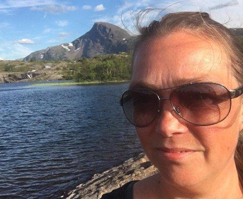 Marit Vindvik priser seg lykkelig over at det gikk bra.