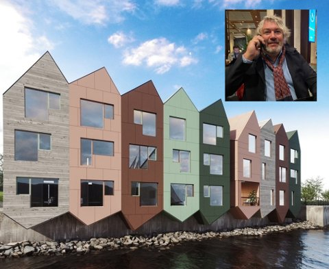 Entreprenør Michel Tollås Nation sier at prosjektet forhåpentligvis kan stå klart ved utgangen av neste år.