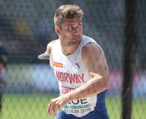 Martin Roe (IL Fri) er i form, og vant tikampen på Tenerife i pinsehelgen.