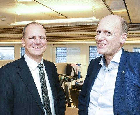 ER MED: Anders B. Werp fra Øvre Eiker fortsetter som statssekretær for samferdselsminister Ketil Solvik-Olsen.