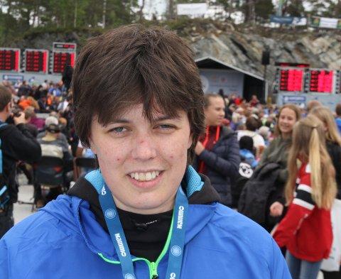 STERK: Reidun Kristin Knapstad vartet opp med gode poengsummer i Frende Cup på laurdag.