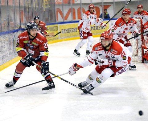 SEIER: Daniel Trnavsky sørget for Stjernens første scoring, og med sin hurtighet var han en real håndfull for Lillehammers backer.