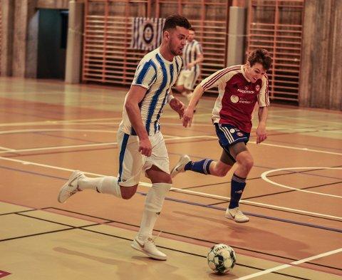 GOD KAMP: Rinor Topallaj var Fredrikshalds viktigste spiller.