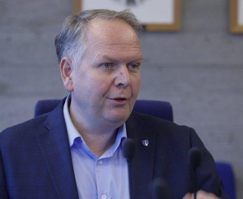 VIL BLI STØRRE: Ordfører Sigmund Lier ønsker flere hytter i kommunen og inn i sone 3 hos regjeringen.