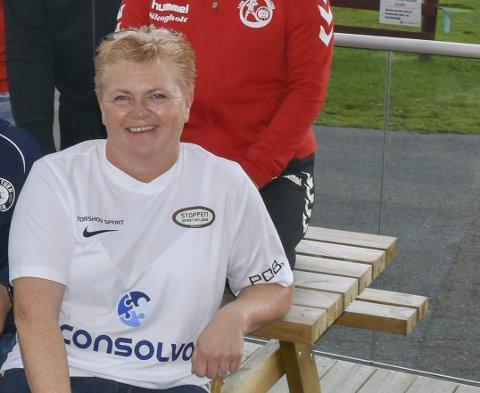 Trine Pettersen, daglig leder i Stoppen SK.