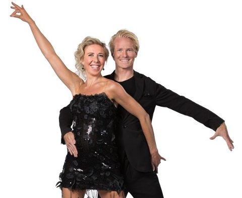 Kristin Størmer Steira (35) og Fredric Brunberg (30).
