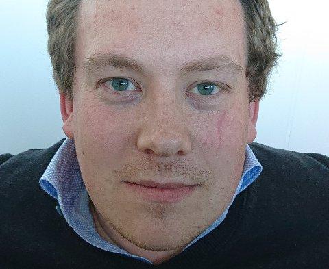 Daglig leder Hartvig Magnus Sverdrup (31) er femte generasjons fiskeprodusent hos H. Sverdrup på Reine i Moskenes.