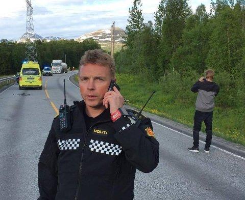 INNSATSLEDER: Arne Markus Svendsen