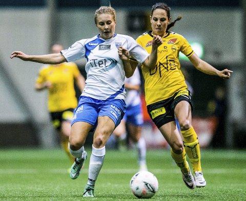 NOMINERT: Kapp-jenta Ingrid Moe Wold er nominert i klassen årets forsvarsspiller. Arkivfoto
