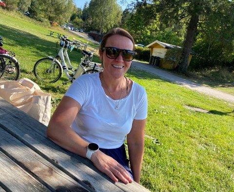 HAR BESTEMT SEG: Vibeke Nystad har bestemt seg for å stemme på et annet parti enn hun pleier i år.