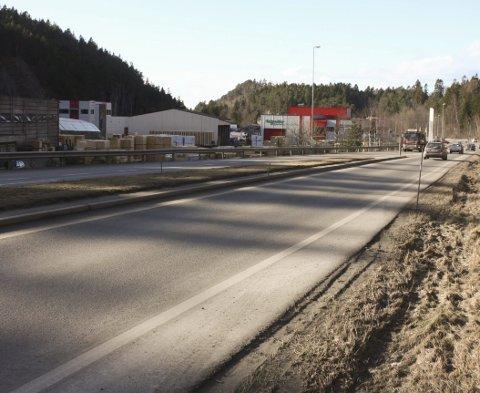 Kontroll: Mannen ble stoppet i Skjelsvikdalen.