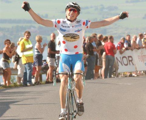 I 2006 vant Edvald Boasson Hagen etappen i Ringerike Grand Prix opp Dronningveien. Nå skal sykkeleliten igjen opp den knallharde stigningen.Foto: Ole Martin Solberg