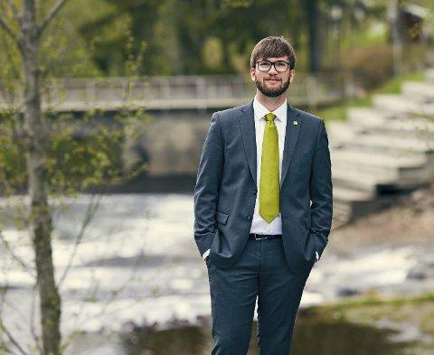 MDG: Lage Nøst er Miljøpartiet De Grønnes førstekandidat til stortingsvalget i Møre og Romsdal.Foto: Calle Huth