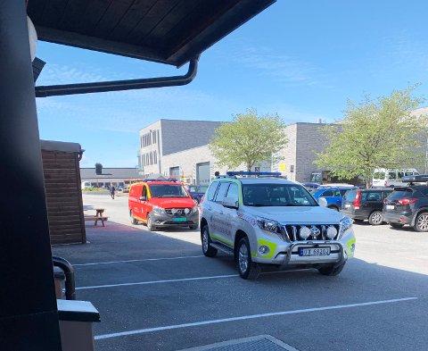 Utrykning til Kristiansund videregående skole.