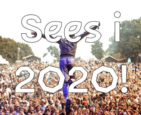 NY FESTIVAL: På forsiden til festivalens nettside loves det ny festival i 2020. Mer konkret informasjon er det foreløpig ingen som vil ut med.