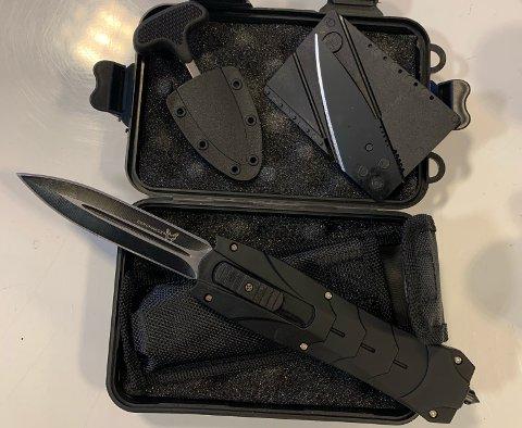ULOVLIG: Slike type ulovlig våpen beslaglegger tolletaten i store mengder.