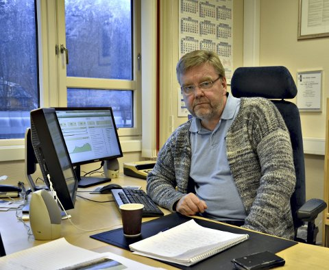 Bytter avisdag: Redaktør i Aura Avis, Lars Steinar Ansnes, lover en god og fyldig helgeavis på fredag.