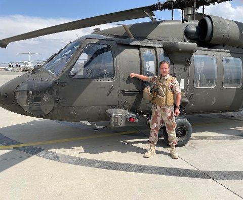 Ante Matti Kalstad fra Hamarøy har tjenestegjort på flere oppdrag i Afghanistan og Irak.
