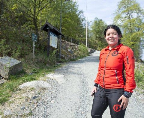 Patricia Flataker kom med ideen Løvstakken Opp i 2011. Hun har gjort det meste alene, og har de siste årene bygget opp en av byens største konkurranser, med over 1000 deltakere.
