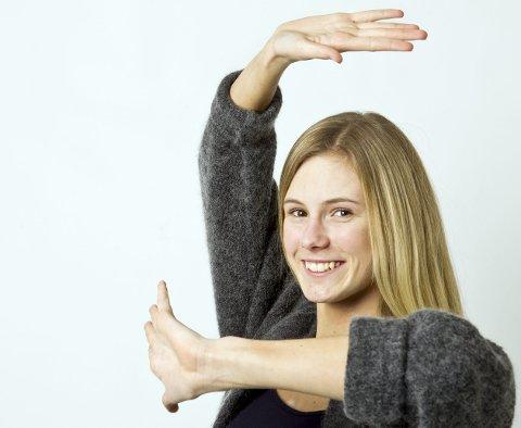 Dancing queen: 18 år gamle Andrea Løvlien Solbjør føler at tiden som talent muligens er over etter      gjennombruddet med EM-gullet i november. Nå sikter hun enda høyere.foto: ole-Johnny Myhrvold