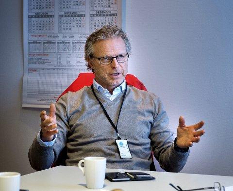 TIDLIGERE NHO-SJEF: Åge Skinstad har takket ja til jobben som daglig leder i Hapro jobb og karriere. Han gleder seg til å komme i gang. ARKIVBILDE